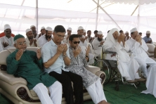 Sayem Sobhan Anvir Laid The Foundation Stone Of Country\'s Largest Mosque To Be Built At Bashundhara