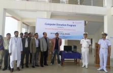 Sayem Sobhan Anvir Donated 25 Computers to Bangladesh Navy School & College at Mongla