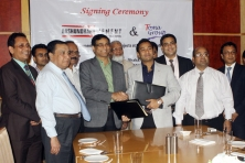 Sayem Sobhan Anvir Managing Director of Bashundhara Group And Toma Group signed the Agreement